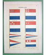 HOLLAND Naval Flags Admiral's Surinam Governor ... - $19.31