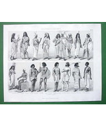 COSTUME of Ancient Egyptians Nubia Pharaohs Que... - $17.82