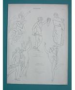 NUDE Sculpture Art Perseus Medusa Mercury - 183... - $9.41