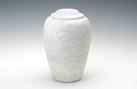 Large Grecian Stone Tone Granitone Adult Funeral Cremation Urn, 190 Cubi... - $194.99
