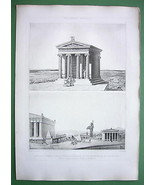 GREECE Athens Restored View Acropolis & Nike Ap... - $54.45