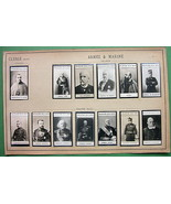 1900 (13) PHOTOS COLLECTION - French Army Offic... - $19.75