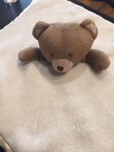 NoJo Teddy Bear Security Blanket Plush Lovey Be... - $21.73
