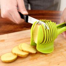 Potato Food Tomato Onion Lemon Vegetable Fruit Slicer Egg Peel Cutter Ho... - $4.00