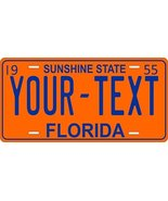 Florida 1955 Personalized Tag Vehicle Car Auto License Plate - $16.75