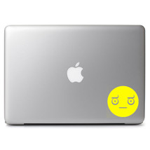 """Multiple Color Look Of Disapproval Smiley Decal Sticker for 13"""" 15"""" Macbook - $4.99+"""