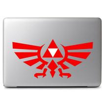 """Multiple Color Legend of Zelda Triforce Royal Decal Sticker for 13"""" 15"""" Macbook - $7.57+"""