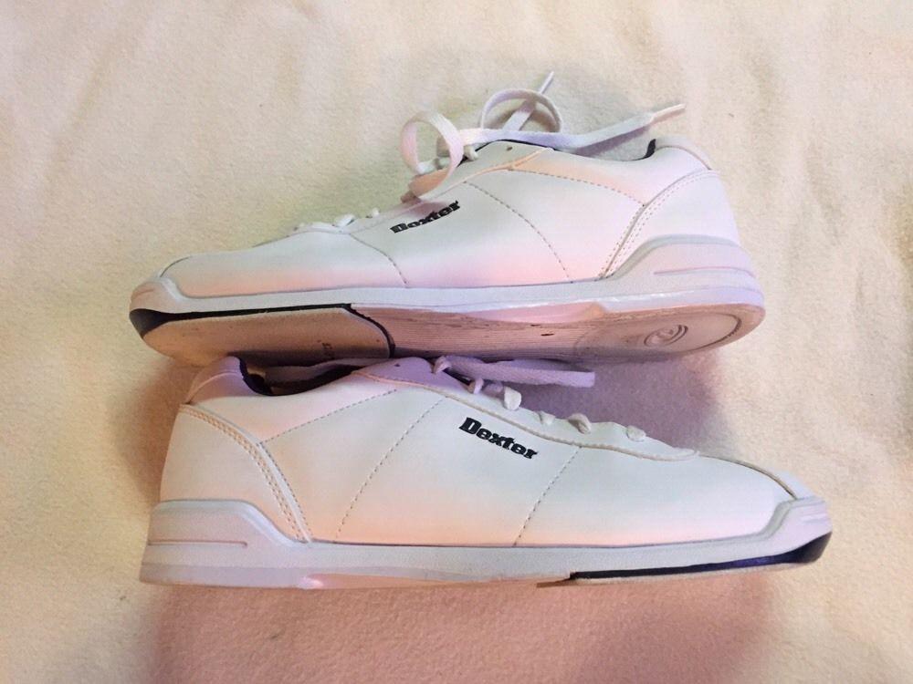 Dexter Womens Slide-Rite Bowling White/Blue Shoes, 9.5M