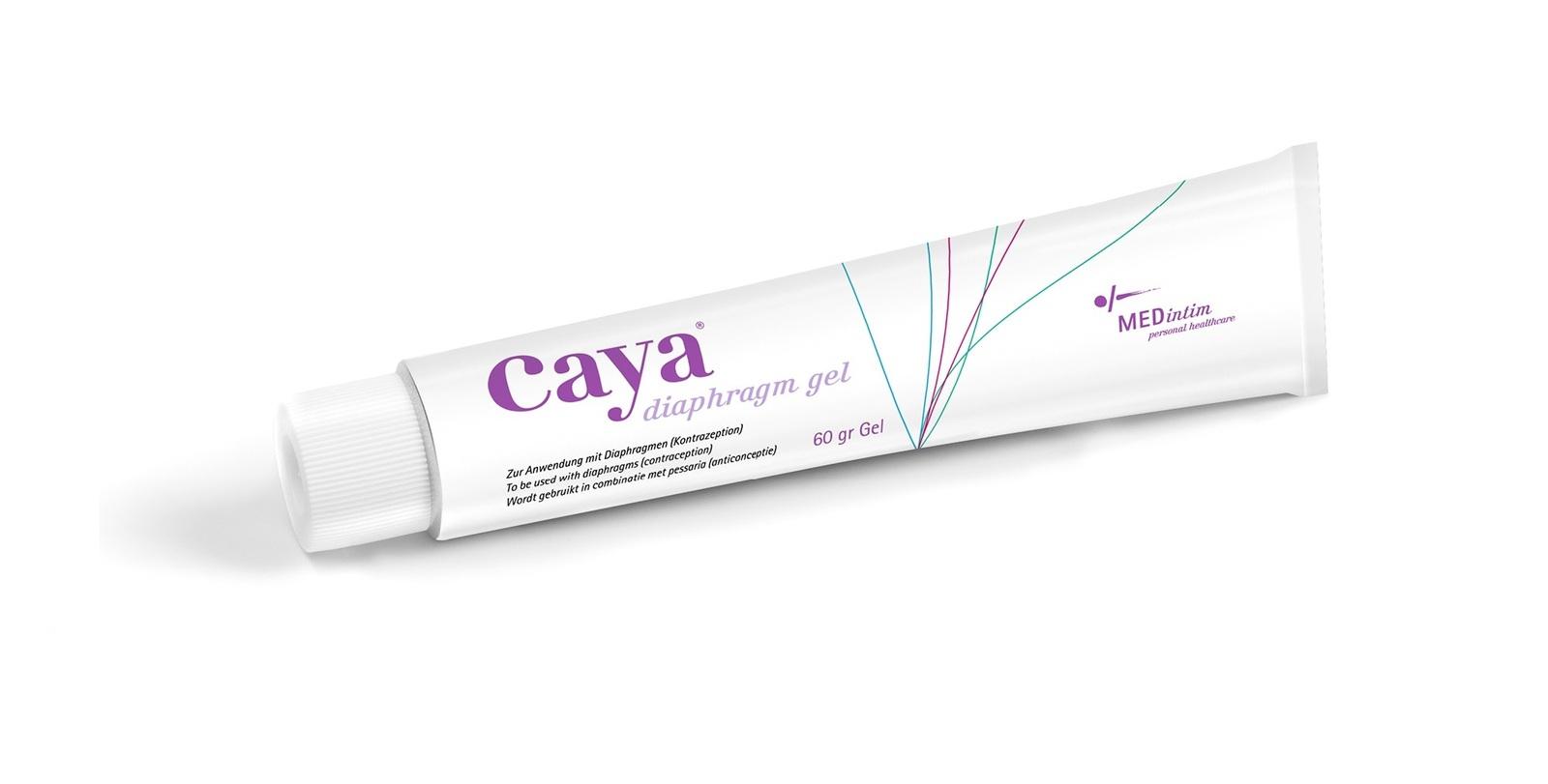 Caya Single Size Diaphragm with Caya Gel - Condoms