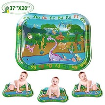 Jogotoll Tummy Time Mat Infant Toys Inflatable Water Play Mat, 37.4'' X 29.9'' D