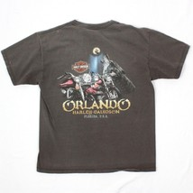 Harley Davidson Orlando Florida T-Shirt Herren Größe L Doppelseitiger He... - $22.71