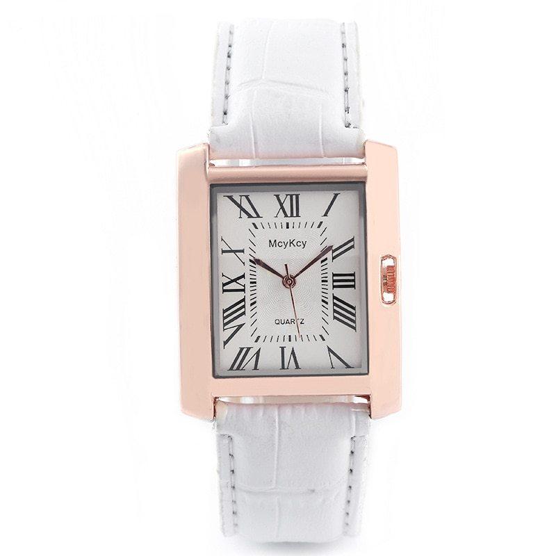 2018 Vintage Unique Rectangle Watch Womens Fashion Luxury Watches Ladies Wristwa image 3