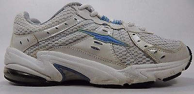 Avia 6263 Women's Athletic Shoes Size US 7 M (B) EU 38 White Blue