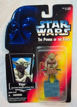 STAR WARS The Power Of The Force YODA w/ BACKPACK Action Figure Toy 1995... - $14.85