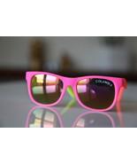 Classic Tortoise Sunglasses Neon Pink/ Rubber/ ... - $14.00