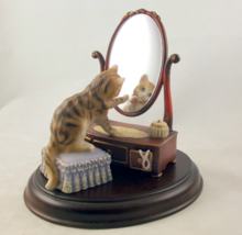 Franklin Mint Picture Perfect porcelain cat kit... - $38.00