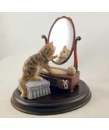 Franklin Mint Picture Perfect porcelain cat kit... - $38.00