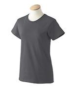 Charcoal  XS  G200L Gildan Women ultra cotton T-shirt   - $4.40