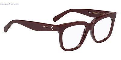 593bce5caf New CÉline Eyeglasses Cl 41338 Lhf Burgundy and similar items