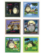 MY NEIGHBOR TOTORO anime CLOTH PATCH SET ( 6 Patches ) - $19.00
