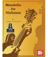 Mandolin For Violinists Book/Book/Online Audio Set  - $22.99