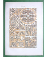RUSSIA Engraved & Scriptural Ornaments- TINTED ... - $25.74