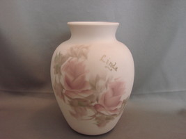 "Personalized ""Linda"" Hand Pained Porcelain Vase by  M Brinks  - $7.99"