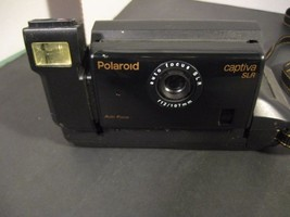 Vintage Polaroid Captiva SLR Camera Auto Focus 95 Film Instructions Incl... - $23.38