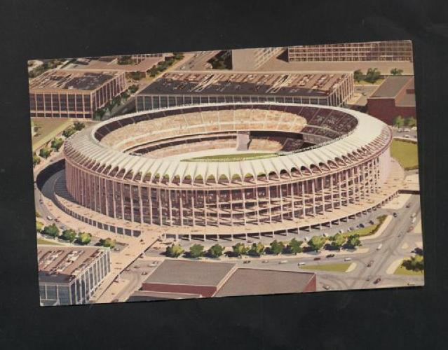 Vintage Postcard Aerial Air View Busch Memorial Stadium St. Louis Missouri