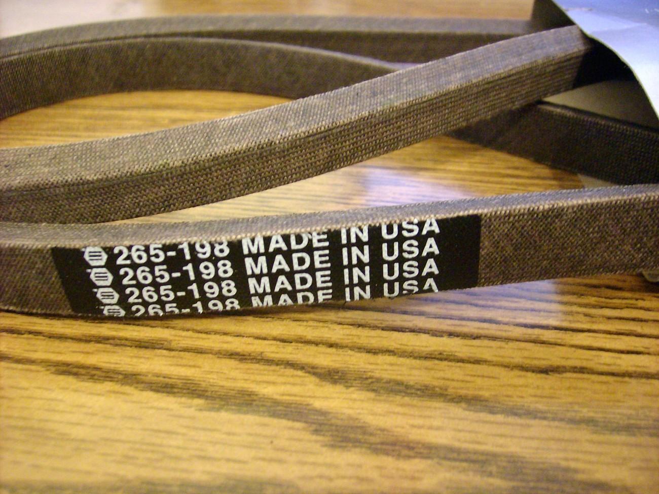 Drive Belt fits Cub Cadet, MTD, White 754-04001, 754-04001A, 954-04001A