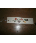 Flowers From The Holy Land Bookmark  - $3.00