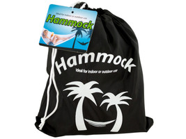 Nylon Hammock in Carrying Bag - $45.79