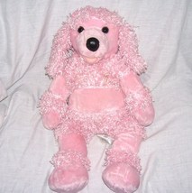 "Build A Bear Workshop PINK POODLE 18"" Plush Dog - $24.96"