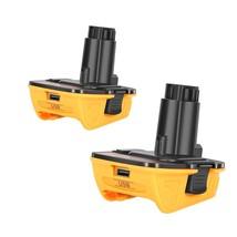 2Pack Dca1820 Battery Adapter For Dewalt 18V To 20V Adapter Converter  - $54.99