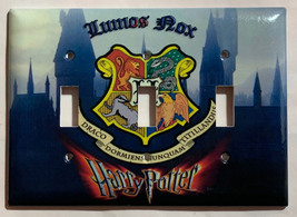 Harry Potter Lumos Nox Hogwarts Light Switch Outlet wall Cover Plate Home Decor image 4