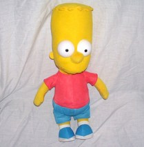 "Bart Simpson 17"" Doll Plush by Toy Factory From 2013 - $14.96"
