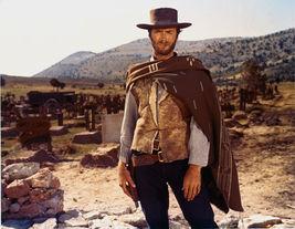 The Good Bad Ugly Clint Eastwood TKK Vintage 8X10 Color Movie Memorabilia Photo - $6.99