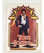Tom Jones 1980 Concert Program Sexy Photos Muhammad Ali Fight Manilow Bo... - $14.95