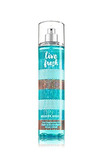 Bath and Body Works Fine Fragrance Mist Live Fresh Seaside Breeze 8 Ounce