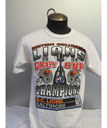BC Lions Shirt - 1994 Grey Cup Champions - CFL USA vs Canada -  Men's Me... - $39.00