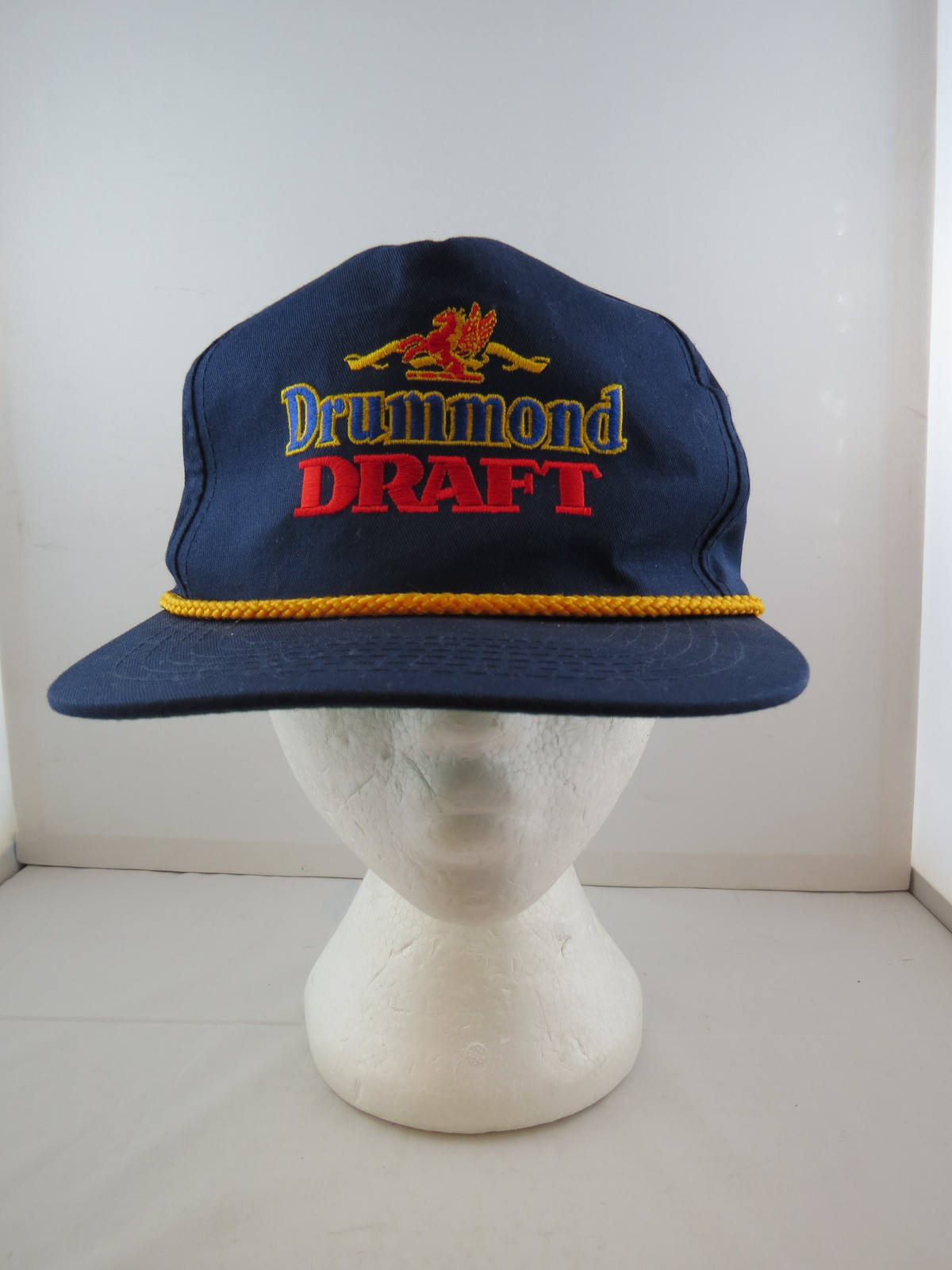 70fb568a96b13 Vintage Canadian Beer Hat - Drummond Draft and 50 similar items