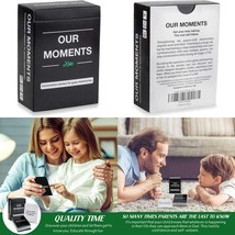 Our Moments Kids: 100 Thought Provoking Conversation Starters For Great ... - $29.19