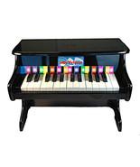 25 Key Toy Piano Black Kids Mini Tabletop Grand... - $62.50