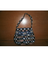 Small Vera Bradley Purse , Blue with Owls and Flowers  - $3.00