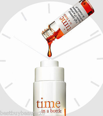 Primary image for Philosophy TIME IN A BOTTLE AGE-DEFYING SERUM 1.3OZ! & HIGH POTENCY ACTIVATOR