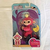 Fingerlings Interactive Toy BELLA Pink Baby Monkey WowWee - NEW - $24.74