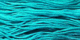 Calypso 6 strand hand dyed embroidery floss 5yd skein Ship's Manor  - $2.00