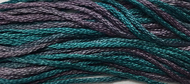 Cleopatra 6 strand hand dyed embroidery floss 5yd skein Ship's Manor  - $2.00