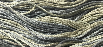 Dusty Things 6 strand hand dyed embroidery floss 5yd skein Ship's Manor