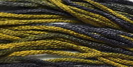Graveyard Lichen 6 strand hand dyed embroidery floss 5yd skein Ship's Manor  - $2.00